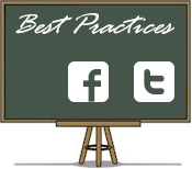 best practices for facebook and twitter