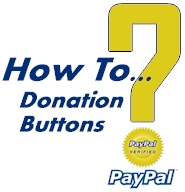 How to create a donation button in paypal