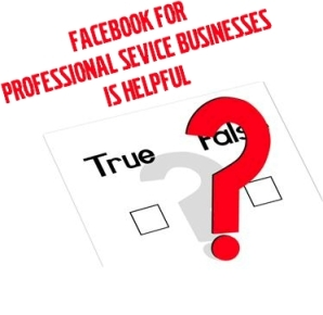 Facebook for Professional Services