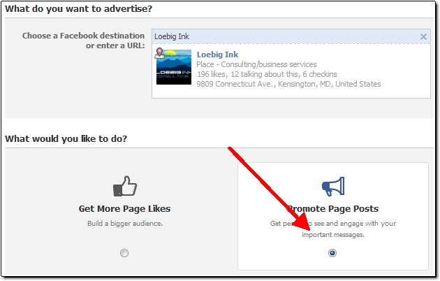 How to Create a Free Facebook Advertisement aka: Offer | The Ink Blog