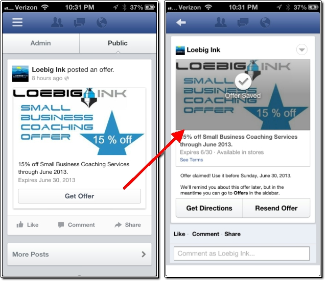 How to Create a Free Facebook Offer   The Ink Blog