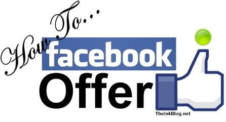 How to create a facebook offer