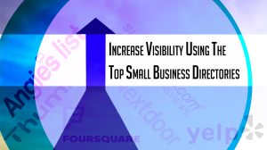 Increase your visibility image for small businesses in these local directories