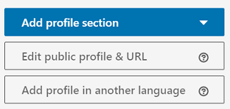 Edit public profile & URL - LinkedIn screenshot