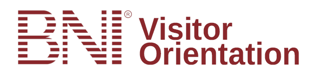 BNI visitor orientation