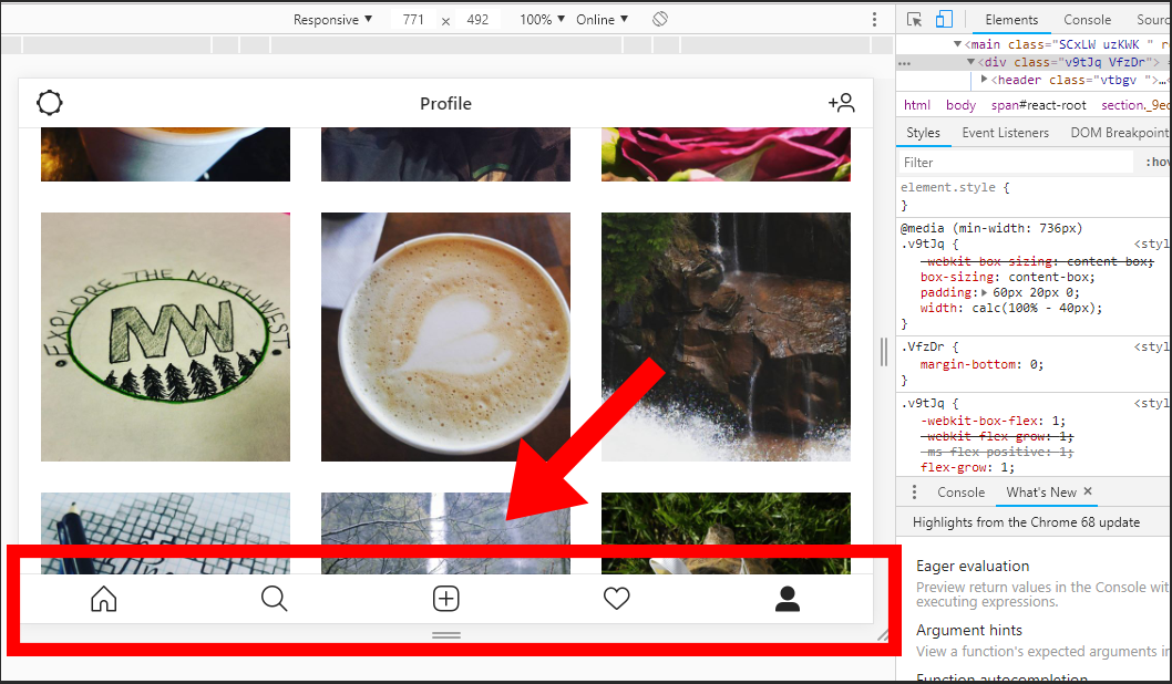 How to Post an image to Instagram from your Desktop Google