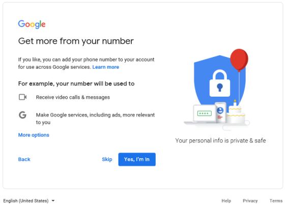 Google - get more